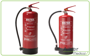 Fire Extinguisher Water At Aiker Medical