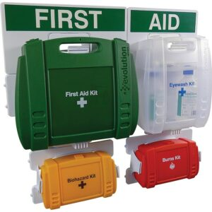 4 Station Evolution Complete First Aid Point