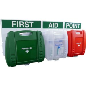 3 Station Evolution First Aid, Eye Wash and Burns Point