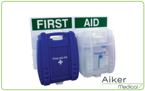 3 Point Evolution Eye Wash & Catering First Aid Station at Aiker Medical