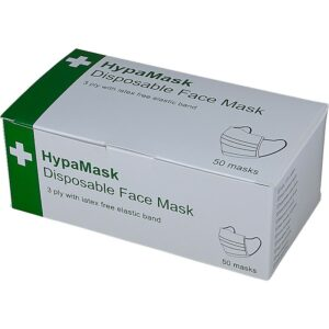 HypaMask 3 Ply Disposable Protective Face Masks
