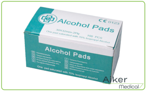 Pre-Injection Alcohol Pad at Aiker Medical