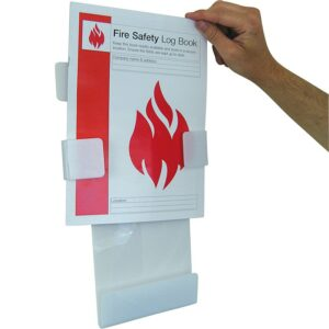 Fire Safety Log Book Station With Fire Safety Log Book (A4)