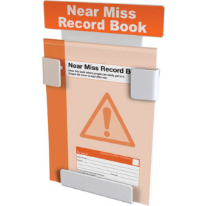 Near Miss Record Book Station With Near Miss Book (A4)
